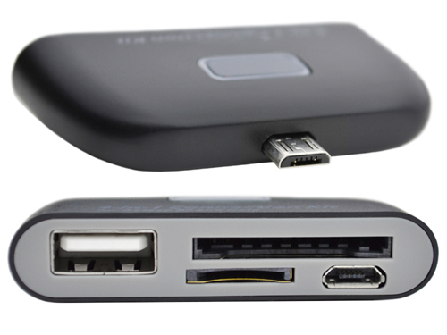 4-in-1 Connection Kit for Samsung Galaxy™ SII and Note™ - Top and Bottom