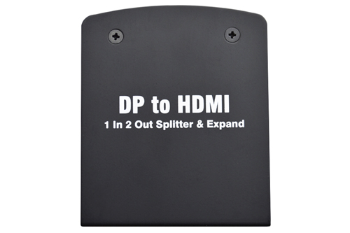 Display Port to HDMI Splitter/Expander One to Two HDMI Output