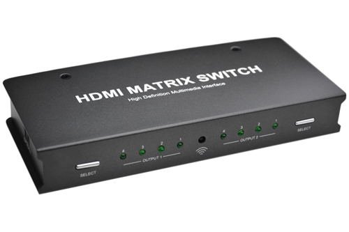 4x2 Port HDMI Matrix Switch